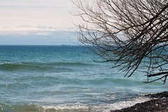 tanker in the lake (S. J. Coates Images) Tags: princeedwardcounty lakeontario spring