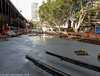 CBD & South East Light Rail - Circular Quay, concrete pour - Update 30 April 2018 (2) (john cowper) Tags: cselr sydneylightrail circularquay georgestreet pittstreet alfredstreet concretepour leanmix worksite workers track tracklaying trackslab tracks scissorscrossing truck transportfornsw altrac sydney newsouthwales