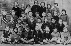 Class 1 (theirhistory) Tags: boy girl child children kid school group class form pupils students coat hat jumper shoes shorts wellies boots
