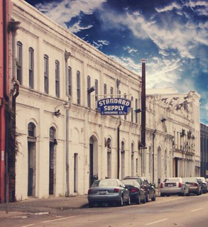 New Orleans Louisiana - Old Warehouses - Standard Supply  and  Hardware  Co