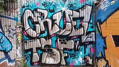 Cruel.. (colourourcity) Tags: streetart streetartnow graffiti graffitimelbourne burncity awesome colourourcity nofilters melbourne streetartaustralia cruel tsf crewies chromies