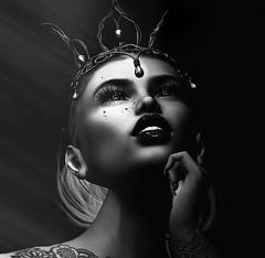 Tu penses à quoi ? .... (Shocoon) Tags: portrait black white light ombre head ha