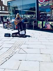 Public Singer 2 (Luzon Jim) Tags: street outdoor people acoustic guitar instrument