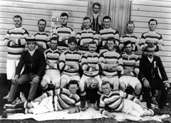 Goomburra Rugby Union Football Club, 1910 (State Library of Queensland, Australia) Tags: queensland statelibraryofqueensland slq rugbyunion rugby rugbyteams rugbyplayers footballers