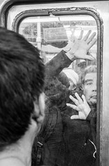 A day in the Mexico City Subway (Frederik Trovatten) Tags: mexico mexicocity subway subwaystation metro station streetphotography street streetphoto streetportrait candid candidphotography public publictransportation blackandwhite black white blackandwhitephotography fuji fujifilm x100f