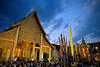 Zoe Maxim -Chiang Mai - THAILAND (zoemaxim) Tags: fujifilm xt2 16mmf14 wat chedi luang chiang mai thailand fuji film 16mm f14 temple buddha festival inthakin
