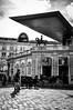 Albertina Museum (Valdy71) Tags: vienna wien museo museum travel viaggi valdy nikon bw blackandwhite people city citylife