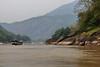 Boat on Mekong River, Laos (Fedor Odegov) Tags: boat laos mekong river