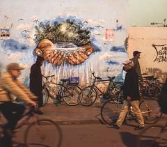 Street art in essaouira (S.Pompei photo) Tags: morocco maroc travelphotography streetphotography flickrtravelaward africa northafrica ontheroad street streetart streetlife