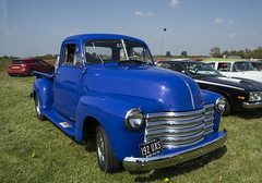192 UXS  1951  Chevrolet Truck (wheelsnwings2007/Mike) Tags: 192 uxs 1951 chevrolet truck aac meeting barton airfield