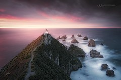 House on the hill Nugget Point N.Z. (Andy Smith Images) Tags: newzealand nugget point lighthouse southland otago