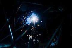 淡江1:1畢業設計 (splendid future) Tags: fujifilm fuji fujicolor xt2 xf1855 yenlifefilm tamkang tku architecture architecturephotography welding spark