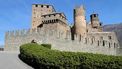 Fenis castle (ab.130722jvkz) Tags: italy aostavalley castles history alps