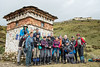 Group of trekkers in front of the Lingshi dzong - Thimphu District - Snowman Trek - Bhutan (PascalBo) Tags: nikon d500 asie asia southasia asiedusud drukyul drukgyalkhap bhutan bhoutan འབྲུག་ཡུལ། འབྲུག་རྒྱལ་ཁབ་ snowman trek trekking hike hiking trekker lunana thimphu himalaya himalayas jigmedorjinationalpark buddhism bouddhisme religion outdoor outdoors lingzhi lingshi pascalboegli
