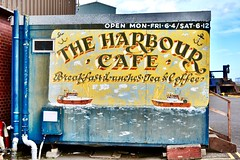 Harbour Cafe - Fraserburgh Harbour Scotland - 19/4/2018 (DanoAberdeen) Tags: danoaberdeen candid amateur 2018 fraserburgh thebrooch boat vessel ship trawler trawlers trawlermen fish fishing fishingboat northeastscotland bonnyscotland highlands aberdeenshire aberdeen grampian scallops mackrel salmon cod shellfish fishingtown fishingvillage boats ships vessels seaport bay tug tugboats northsea bonnie fishinglife lifeatsea workboats brooch docks dock berth bertyhed autumn winter summer spring haddock pike turbot broch thebroch