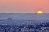 gros soleil (Julianoz Photographies) Tags: nikond610 julianozphotographies paris architecture europe france arcdetriomphe idf vueaerienne art capitale cityscape coucherdesoleil