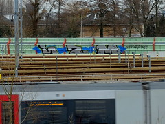 IZM (oerendhard1) Tags: graffiti streetart urban art vandalism illegal rotterdam oerendhard tfuss woup toilet izm izms metro remise
