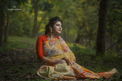 IMG_9514 (nrbroman28) Tags: model female medha bangladeshi mode saaree