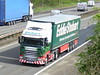 PO18NXM (47604) Tags: po18nxm h5232 eddie stobart michelle cordelis m42 scania lorry truck hgv artic