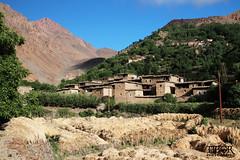 Small mountainvillage (morbidtibor) Tags: africa northafrica morocco desert atlas atlasmountains toubkal trekking hiking village