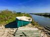 iph8271 (gzammarchi) Tags: italia paesaggio natura ravenna santalberto passoprimaro parcodeltadelpo voltascirocco barca lago canale