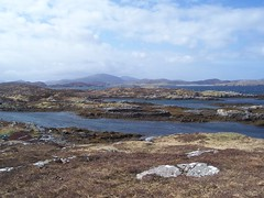 Lobster Pond, Bhalasaig, Great Bernera, April 2018 (allanmaciver) Tags: lobster pond stone circle lanscape rugged weather clouds lochs water windy height remote western isles outer hebrides allanmaciver great bernera bhalasaig valasay
