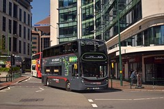 6742 Old Square 05/05/18 (MCW1987) Tags: sn15lfh 6742 alexander dennis enviro 400 mmc national express west midlands platinum