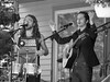 Appleseed Collective (verlacosa) Tags: vscofilm portrait blackandwhite blackwhite omdem1ii michigan livemusic 40150mm monochrome event waterhillmusicfest streetphotography concert performer appleseedcollective bw music olympus annarbor