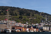 Bergen, Norway (Esbern Christiansen) Tags: bergen bryggen hanseatic tyskebryggen vågen city dock harbour house houses mountain mountainside municipality norway ocean outdoor sea ship statsraad statsraadlehmkuhl thedock town water