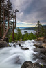 Eagle Falls (Mike Ver Sprill - Milky Way Mike) Tags: eagle falls landscape nature waterfall water fall clouds lake tahoe california nevada travel river stream beautiful