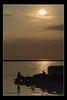 Silhouette (viviennenoonan) Tags: boats sunset water westkirby