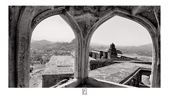 Arches (krishartsphotography) Tags: krishnansrinivasan krishnan srinivasan krish arts photography monochrome fineart fine art arches building ancient architecture queen fort gingee senji vishnu temple tower gopuram hills mountains sky shadow affinity photo tamilnadu india