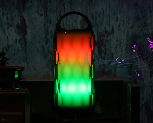 Touch Control Color Changing Speaker