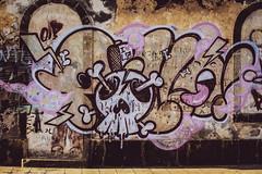 Lighthouse Graffiti ... Revisited (eskayfoto) Tags: canon eos 700d t5i rebel canon700d canoneos700d rebelt5i canonrebelt5i lanzarote playablanca canaryislands islascanarias lightroom sk201801228198editlr sk201801228198 graffiti streetart farodepechiguera faro pechiguera puntapechiguera design picture artwork illustration wall skull crossbones