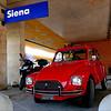 Citroën Dyane, Siena (pom'.) Tags: panasonicdmctz101 siena toscana tuscany italia italy europeanunion april 2018 car vintagecar citroën citroën2cv dyane citroëndyane red redcar stazione 1967 1983 200