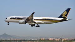 Airbus A350-941 I 9V-SMF I Singapore Airlines (Gustavo H. Braga) Tags: airbusa350 a350 airbus aviation airplanes airport aviação aviacao aviao aeronaves aeroporto barcelona spain
