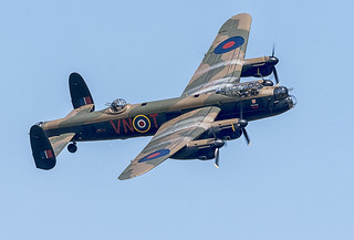A commanding bomber