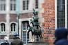 [Bremen] Bremer Stadtmusikanten // Town Musicians of Bremen (Frau Koriander) Tags: nikond300s lensbaby lensbabycomposerpro lensbabycomposerproedge80 lensbabyedge80 edge80 80mm tilt tiltshift bremen bremerstadtmusikanten skulptur denkmal kunst art sculpture germany deutschland norddeutschland brickstone backstein hund katze hahn esel town city klassiker grimm gebrüdergrimm grimmsmärchen märchen fairytale townmusiciansofbremen brothersgrimm building gebäude bremerrathaus townhall