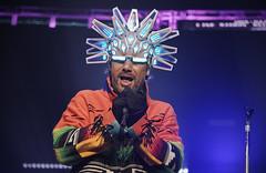 Jamiroquai (oscarinn) Tags: jamiroquai mexicocity mexico live concert arenaciudaddemexico funk music musica dance baile cannedheat lights helmet