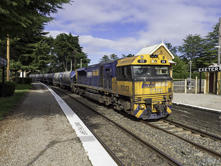 Pacific National TT112 on the UP though Exeter NSW