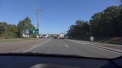 Approaching the Junction Road roundabout on Lytton Road (tanetahi) Tags: video clip dashcam brisbane australia lyttonroad driving car tanetahi