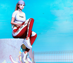 The Future is Female... (Sang Blackthorne) Tags: foxy pumec pseudo bleich osmia majesty rkposes milkmotion cosmopolitan fameshed kustom9 equal10 rare gacha secondlife sl