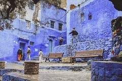 In line (S.Pompei photo) Tags: ontheroad northafrica chefchaouen africa traveling travelphotography streetphotography travelers morocco people stphotographia composition flickrtravelaward
