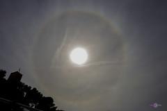 halo del sol (Almu_Martinez_Jiménez) Tags: sol halo solar halosolar magia maya sunset sun circulo arco iris rainbow