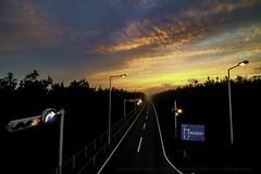 Sunset RT134 (higehiro) Tags: road rt134 shonan japan sunset xpro2 fujifilm