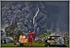 Common sense? (Fotofricassee) Tags: volcano clouds lightning golf