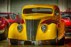 '37 Ford (Pat Durkin OC) Tags: ford 1937ford coupe flames yellow