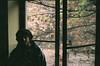 My window in Kazimierz (Krakow), 2015 (Lentejas Puag) Tags: fed5c krakow window portrait shadow silhouette poland 35mm film filmisnotdead oldpic old analog photography cracovia boy guy vintage camera
