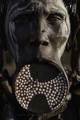 Mursi woman. Mago National Park, Omo Valley. Ethiopia. (Raúl Barrero fotografía) Tags: ethiopia omovalley portrait plate tribe mursi travel culture