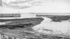 Seahouses . (wayman2011) Tags: fujifilmxf23mmf2 lightroomfujifilmxt10 wayman2011 bw mono coast seascapes harbours piers jetty northumberland seahouses uk